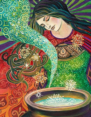 Cerridwen's Cauldron by Emily Balivet